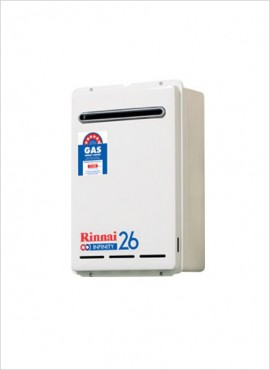 Rinnai 26 litre Gas Geyser (External Domestic)
