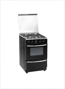 Zero 4-Burner Gas Stove (no grill) – Black