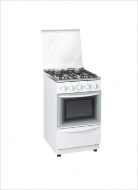 Zero 4-Burner Gas Stove (no grill) – White