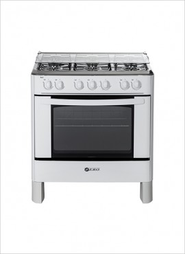 Zero 6-Burner Gas Stove (no grill) – White