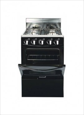 Totai 4 Burner Gas Stove (no grill) – Black (03/T300AB)