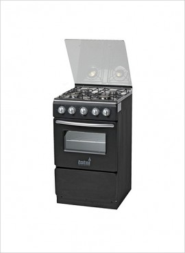 Totai 4 Burner Gas Stove (no grill) – Black (03/T300AB)