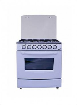Totai 6 Burner Gas Stove (no grill) – White (T600A)