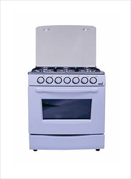 Totai 6 Burner Gas Stove No Grill White 03 T600af