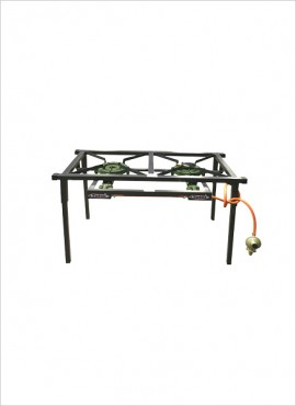 2-burner Gas Boiling Table (08/200C)