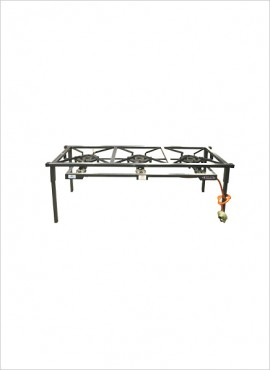 3-burner Gas Boiling Table (08/300C)