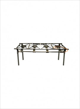 4-Burner Gas Boiling Table (08/400C)