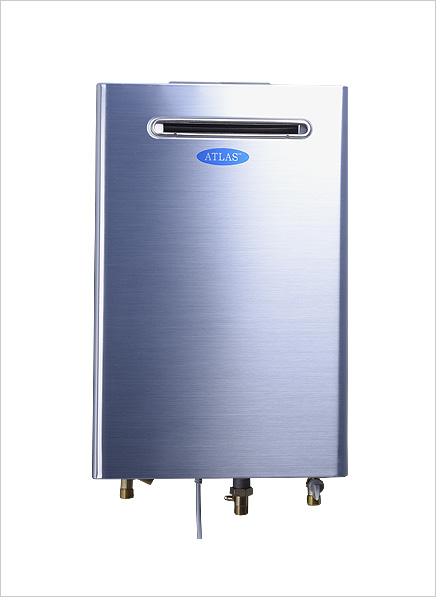 Atlas 20 litre Forced Fan Gas Geyser