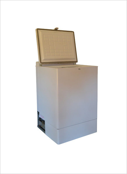 Cold Factor 120l Paraffin/Elec Chest Freezer – White (CF120PE)