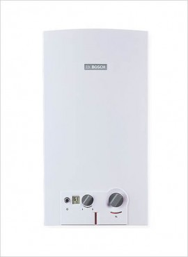 Bosch 14l Gas Geyser – Battery / LPG (WRD14B31)