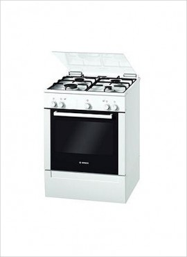 Bosch 4-burner Gas Stove (no grill) – White (HGG223122Z)