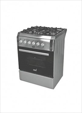 Totai 4-burner Gas Stove (Gas Oven & Gas Grill ) – S/Steel (03/T700)