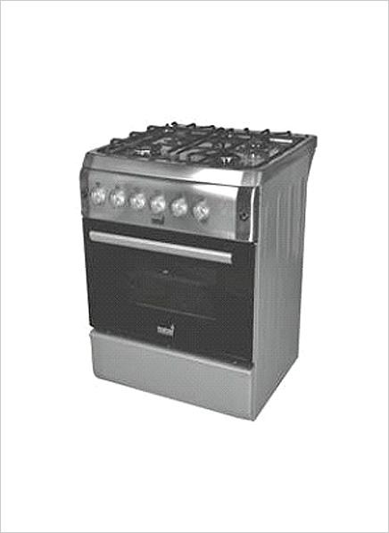 Totai 4 Burner Stove Elec Oven Grill S Steel 03 T700e