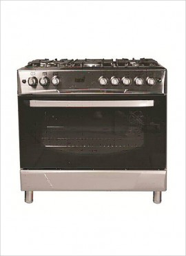 Totai 5-Burner Gas Stove (Gas Oven & Grill) – S/Steel (03/T800)