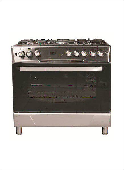 gas cooking stoves. Totai 5-Burner Gas Stove (Gas Oven \u0026 Grill) \u2013 S/Steel Cooking Stoves