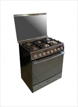 Zero 6-burner Gas Stove (Gas Oven) – S/Steel