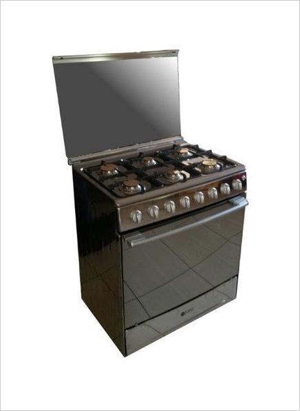 zero 6 burner gas stove gas oven s steel