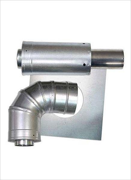 Paloma Flue Pipe Kit (27l geyser) – Vertical Termination