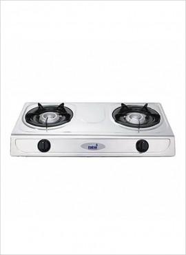 Totai 2-burner Gas Hotplate – S/Steel 26/011A